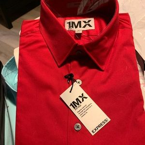 Express 1MX Dress shirts size S New #express #1mx